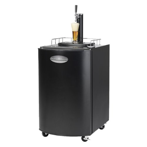 Single-tap kegorator